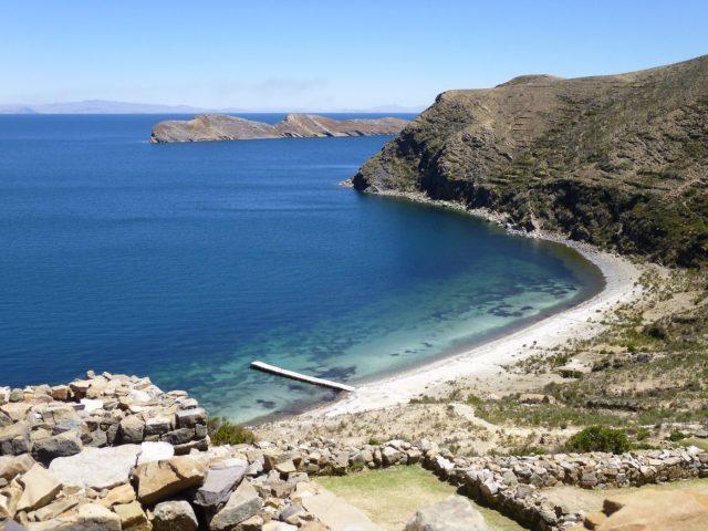 Isla del Sol on Lake Titicaca
