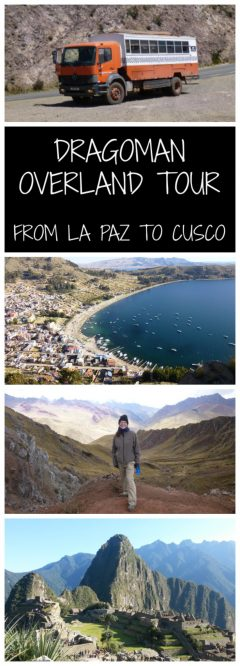 Dragoman Overland Tour from La Paz to Cusco