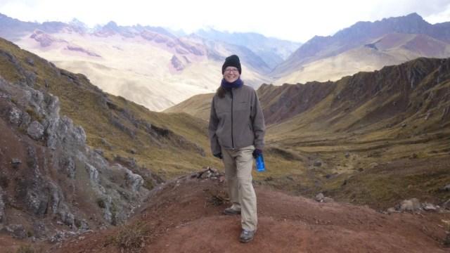 Me on the trek to Machu Picchu