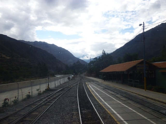 The Train to Machu Picchu from Ollantaytambo