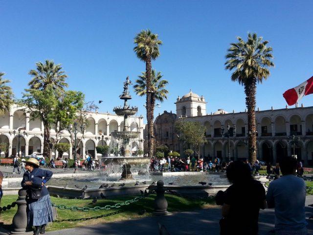 Arequipa: La Plaza de Armas