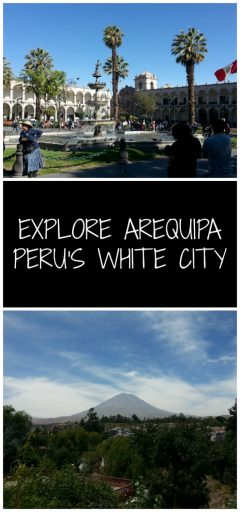 Arequipa, Peru's White City