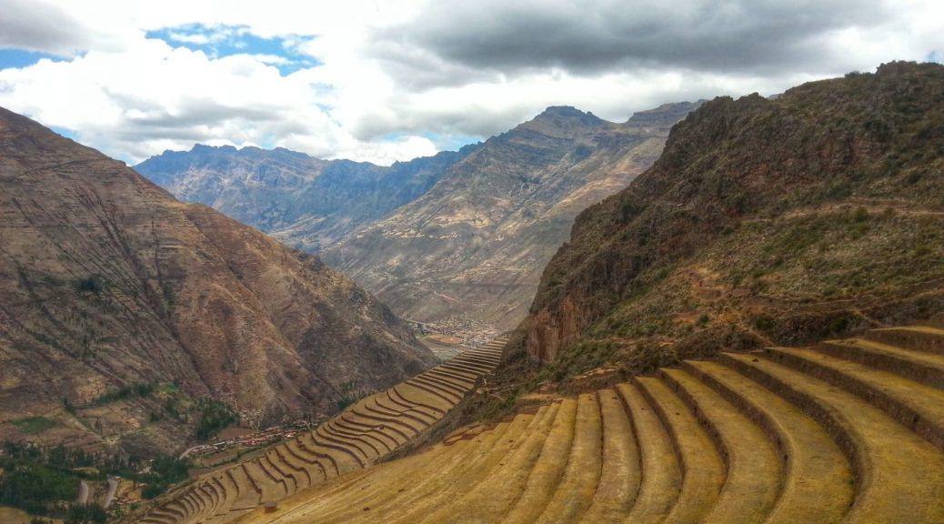 Inca Ruins in Pisac - Day Trips from Cusco Peru