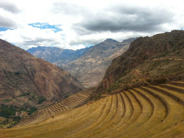 Inca Ruins in Pisac - Day Trips from Cusco Peru