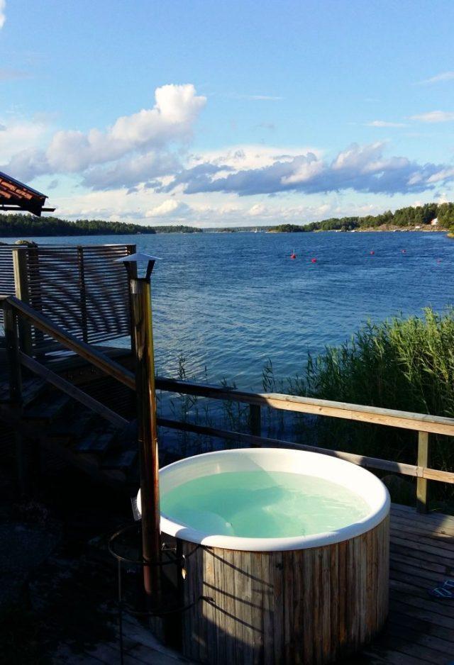 A Hot Tub with a View at A Hot Tub with a View at Djurönäset