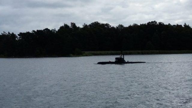 The Submarine at Djuronaset