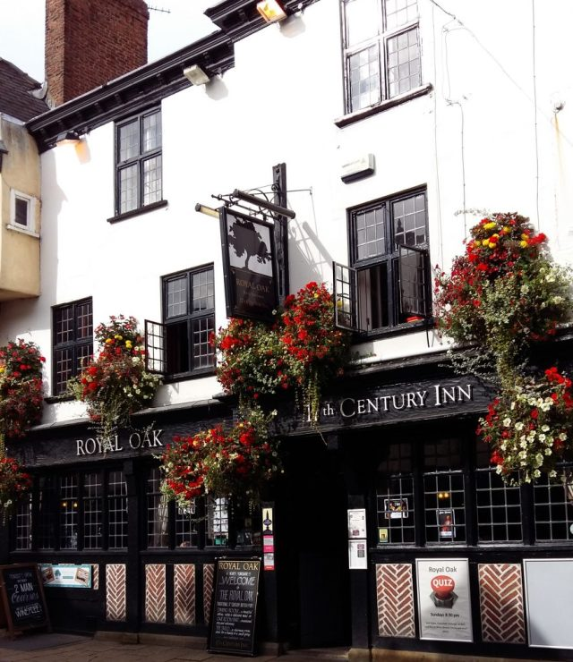 A Historic Pub on the Guided Walk of the York Food Festival
