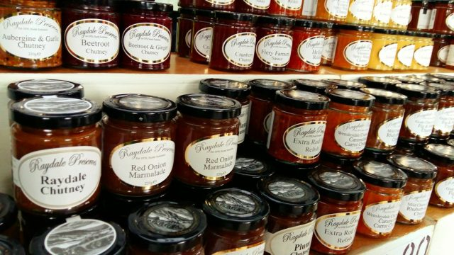 Rows of Jam at the York Food Festival
