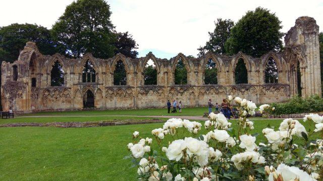 Photos of York - York Museum Gardens St Marys Abbey