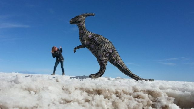 2016 Review - Being Chased by Dinosaurs in Bolivia on the Salar de Uyuni