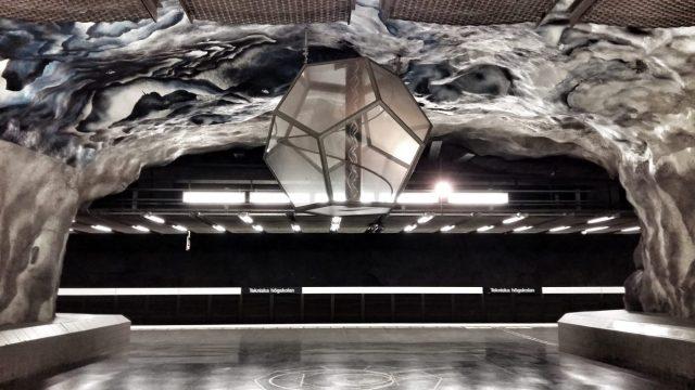 Stockholm Subway Art - Tekniska Högskolan Station