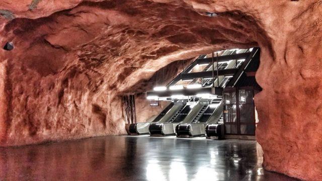 Stockholm's Subway Art - Solna Station