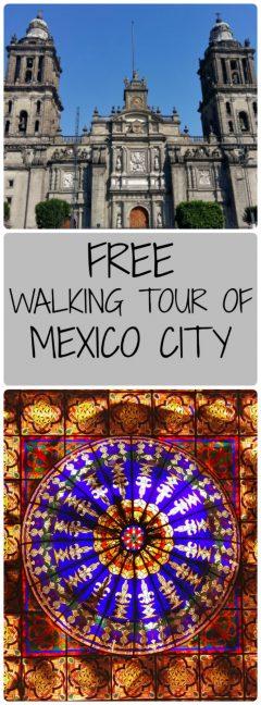 Free Walking Tour of Mexico City