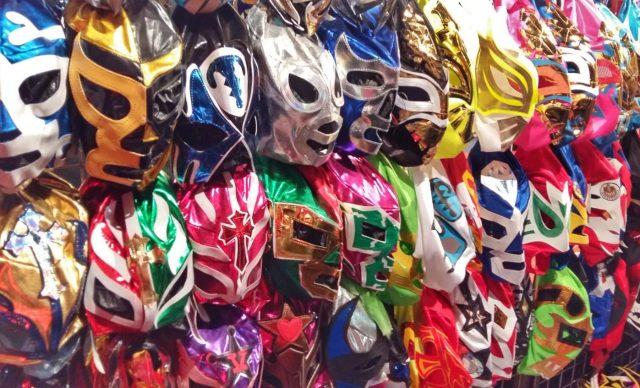Lucha Libre Mexico City - Lucha Libre Masks