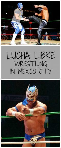 Lucha Libre in Mexcio City 1