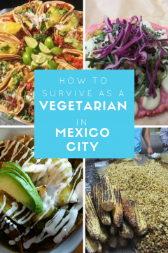 Tips on what to eat and where to eat it! Your guide to vegetarian food in Mexico City! There are plenty of options as a vegetarian in Mexico City, and for vegans too.