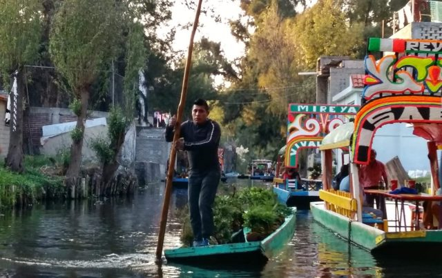 Life on the river at Xochimilco Mexico City
