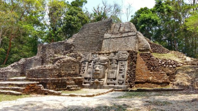 Lamanai Belize - Mayan ruins near Orange Walk Town Belize