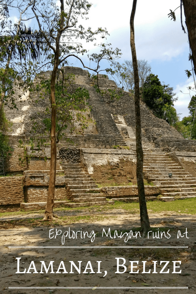 Exploring Mayan Ruins at Lamanai, Belize