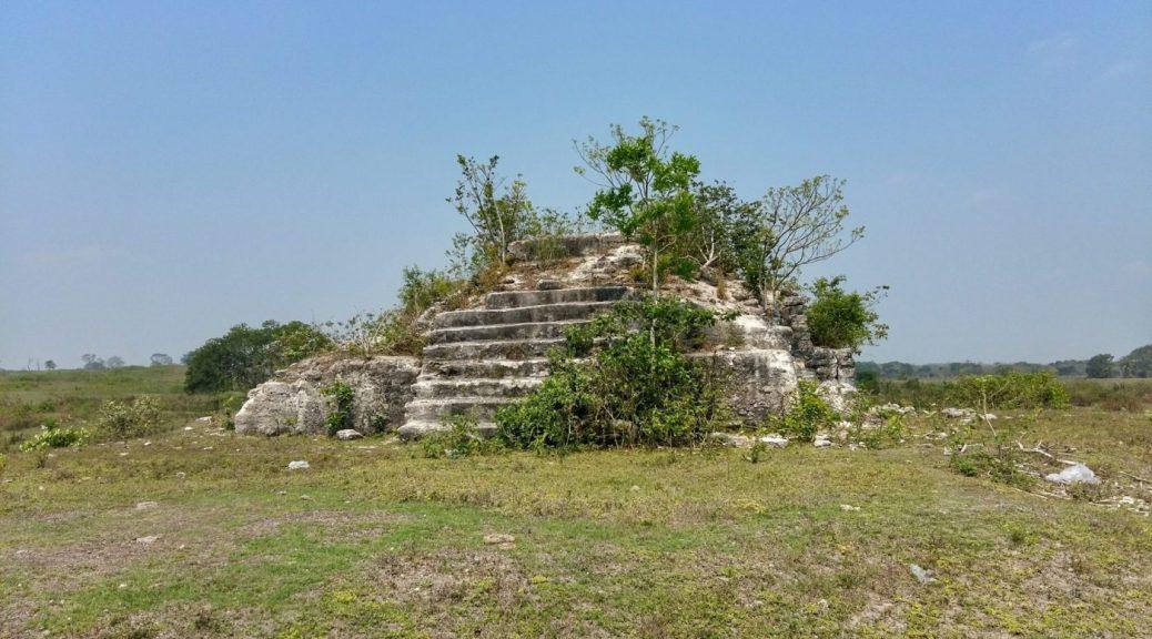 Mayan reuins in Orange Walk