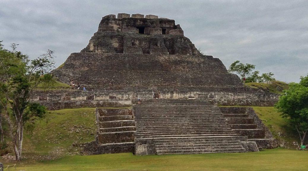 Xunantunich Maya Ruins near San Ignacio Belize