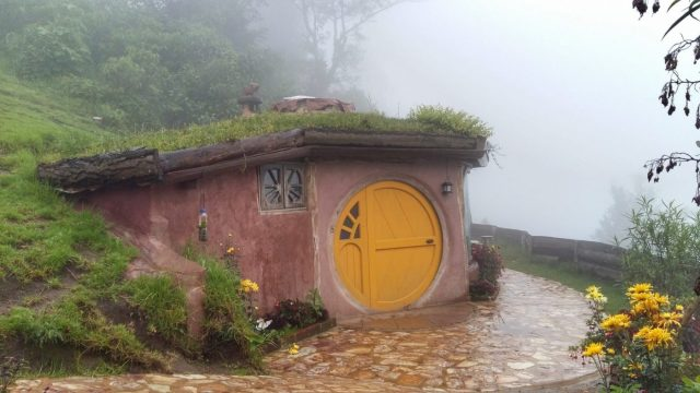My very own Hobbit Hole in Hobbitenango Antigua Guatemala