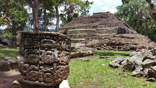 More carvings in Copan Ruinas Copan mayan ruins