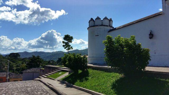 Fuerte Cabanas mirador in Copan Honduras