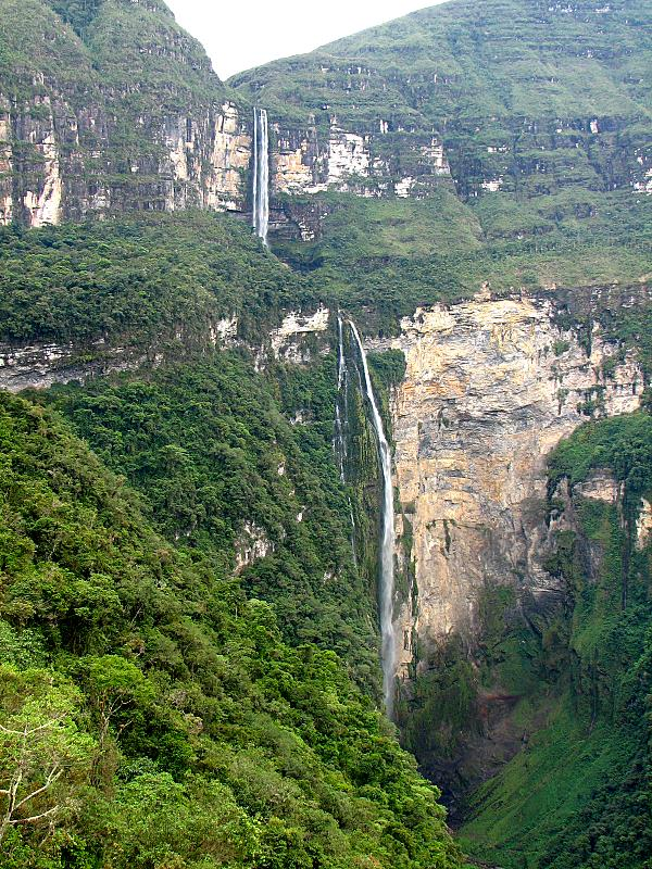 Gocta Waterfall near Chachapoyas Peru