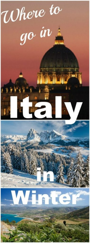 Italy isn't just a summer destination, there is plenty to do all year round. Here are my picks for where to go in Italy in winter, from skiing to winter sun