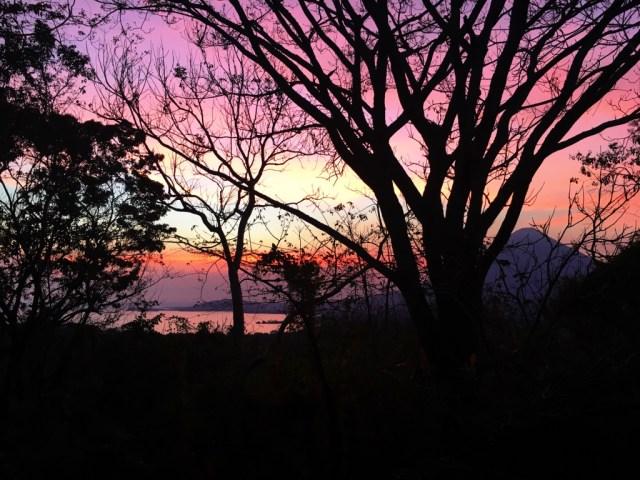 Sunset on Ometepe Island Nicaragua