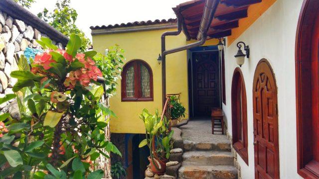 The pretty Cuna Maya Hotel Copan, Honduras