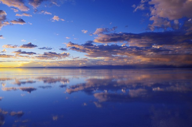 Uyuni Salt Flats: El Salar de Uyuni Tour in Bolivia -Reflections of the Sunset in Rainy Season