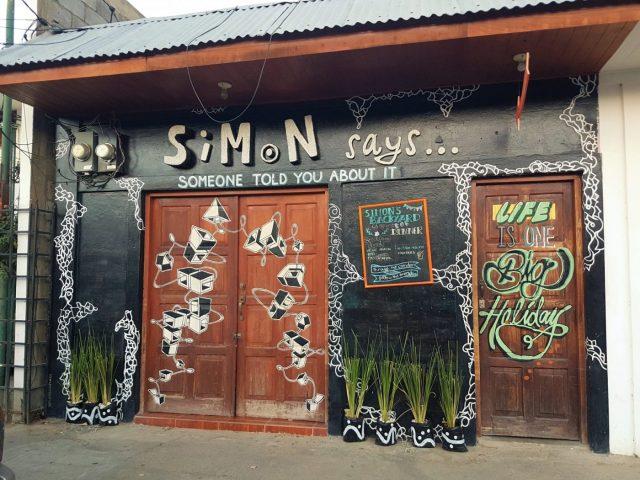 Simon Says in San Juan del Sur Nicaragua. Credit: The Lost Romanian