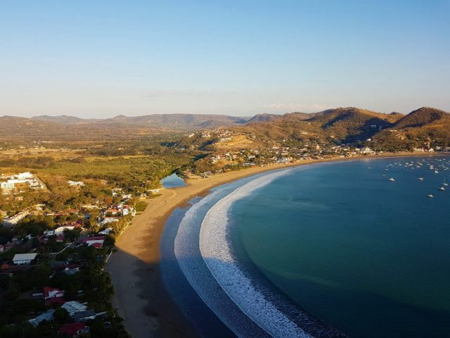 The View from Cristo, Waves on the Beach. San Juan del Sur. Credit: The Lost Romanian. Things to do in San Juan del Sur Nicaragua