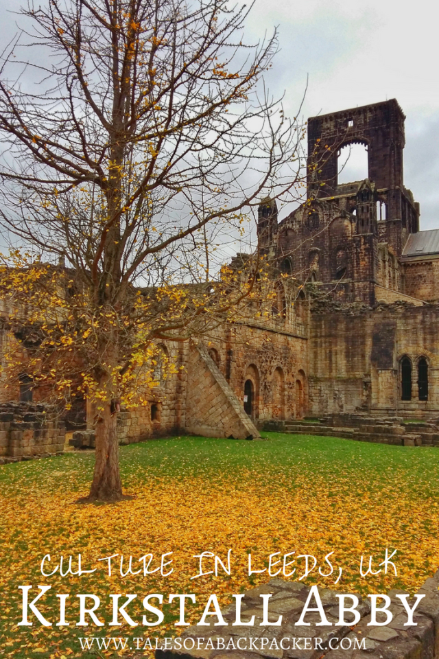 The city of Leeds in Yorkshire, UK is best known for its huge variety of shops, bars, restaurants and nightlife.  However, Leeds also has a cultural side to explore, including attractions in the city, like the beautiful Kirkstall Abbey. #Leeds #Yorkshire #VisitLeeds #WelcometoYorkshire #England #UK #UnitedKingdom #KirkstallAbbey #Ruins #History #travel