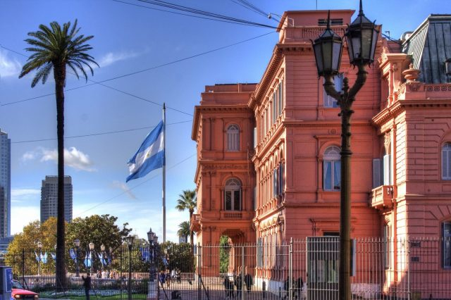 Casa Rosada in the City Center Plaza de Mayo Buenos Aires - Things to do in Buenos Aires