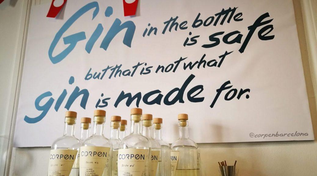 gin making class barcelona