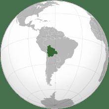 Backpacking Bolivia Map of Bolivia