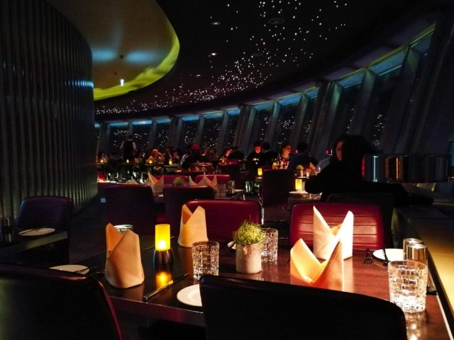 """The Sphere"" the Berlin TV Tower Restaurant"