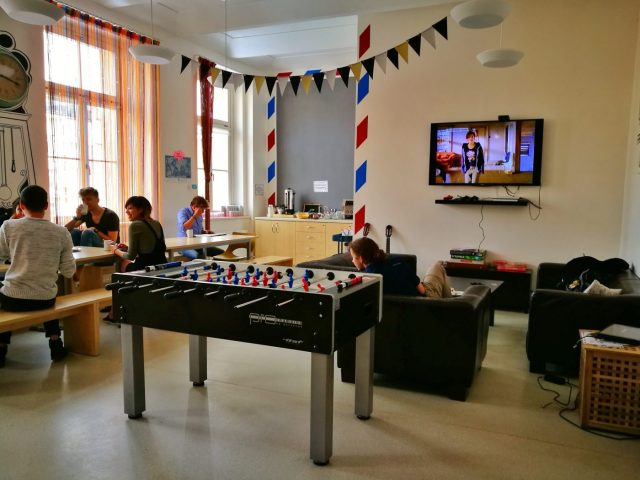 Post Hostel Prague - Chill out & Social Area