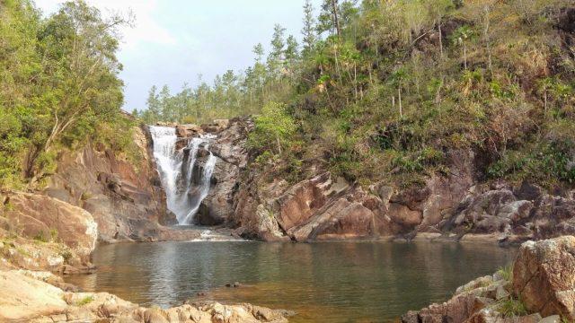 Rion Pools in the Mountain Pine Ridge Reserve near San Ignacio Belize