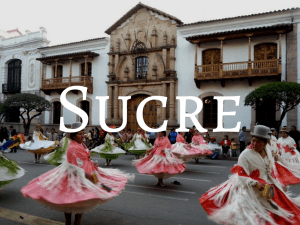 Backpacking Bolivia - Sucre