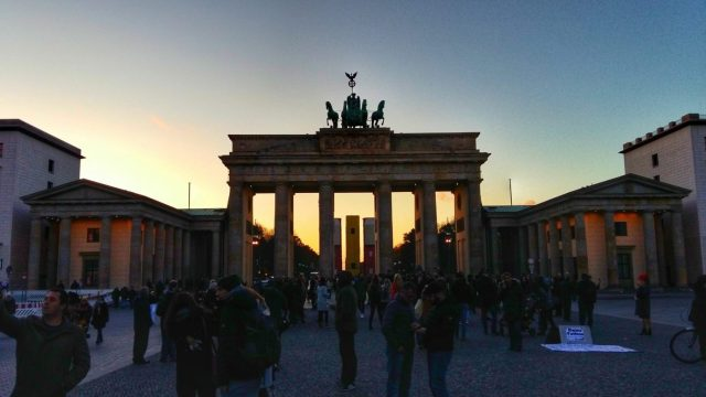Visiting the Berlin Wall - The Brandenburg Gate