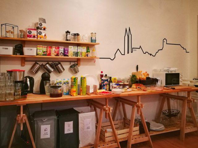 Breakfast at Internesto Apartments in Brno - Where to stay in Brno Czech Republic