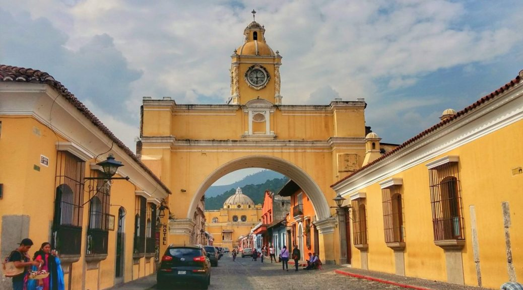 What to do in Antigua Guatemala - The Arch in Antigua