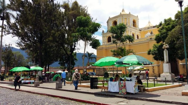 What to do in Antigua Guatemala - Food and Drink in Antigua - Street Food Stalls