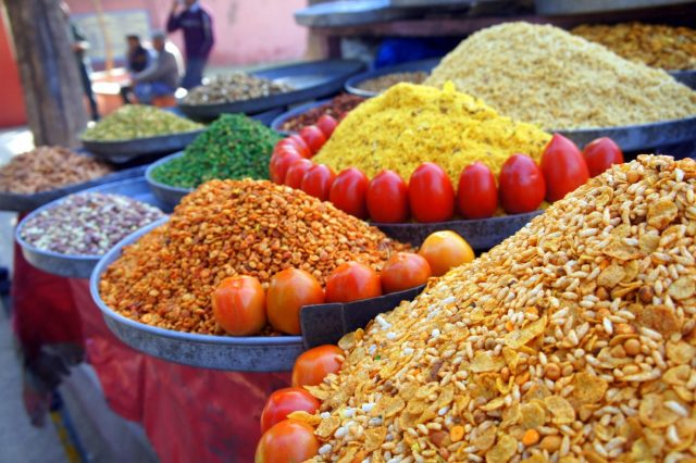 Food in India - Get used to the colours, sights and smells in the markets