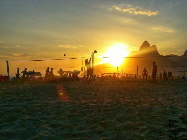 Sunset on the Beach at Rio - Is Rio Safe for Tourists?