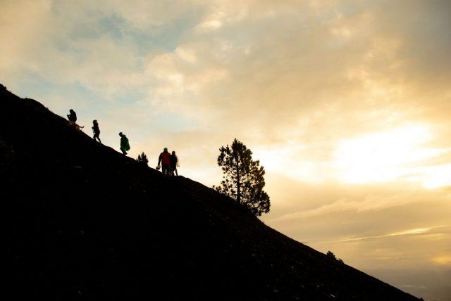 The Acatenango Hike to the Summit - HIking Acatenango